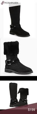 ugg womens julietta boots black michael kors s yoonie ankle boot boots nwt michael