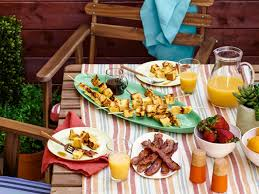 Backyard Grill Chicago by Grill All Day Breakfast And Lunch In Your Backyard Fn Dish