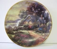 19 best kinkade collections plates plaques mugs and