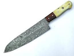 steel kitchen knives damascus steel kitchen knives and custom handmade steel chef knife