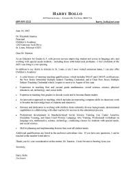 examples of cover letters for teaching jobs best agriculture