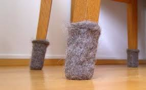 felted furniture to protect your wood floors crochet ideas