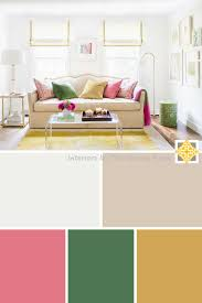 3 bright color palettes for your home interiors by the sewing room
