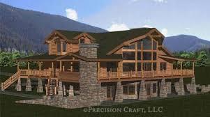 woodhaven log home floor plan