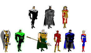 justice league unlimited future jlu by vo5 on deviantart