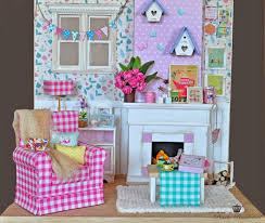 Monster High Doll House Furniture Bimba Bambolina Ooak Custom Blythe Doll Tea Room Boxes