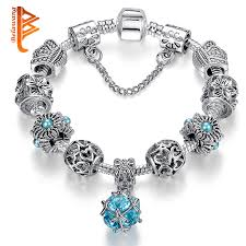 crystal charm bracelet beads images European authentic silver plated owl beads pink white crystal jpg