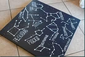 Constellation Rug Constellation Diy Wall Art Refunk My Junk