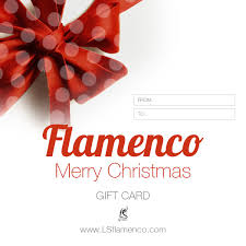 flamenco christmas gift card u2013 lsflamenco
