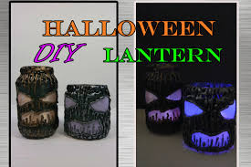 Diy Halloween Home Decorations Diy Halloween Scary Lantern Super Easy And Cheap Home Decor Diy