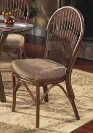 rattan kitchen furniture pair bamboo chairs franco albini style vintage mid century