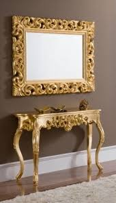 Gold Console Table Gold Console Table And Mirror Mirrors Designs And Ideas