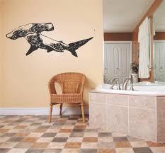 decal vinyl wall sticker hammerhead shark living room bedroom