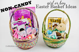 candy basket ideas younger kids no candy easter basket ideas for a boy and girl