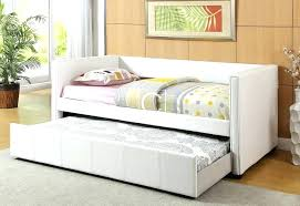 daybed white wood image of modern day bed trundle white wood