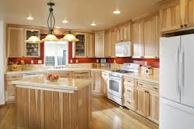 Hickory Kitchen Cabinets Hickory Wood Kitchen Cabinets Considering The Kinds Of Hickory