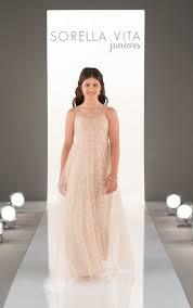 blush junior bridesmaid dresses sorella vita junior bridesmaids dress style j4016 blush bridal