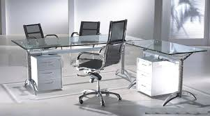 fair 30 glass home office desks inspiration of perfect