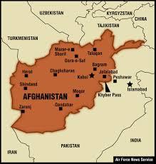 Bagram Air Base Map Afghanistan