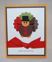 thanksgiving turkey paper piecing card st with