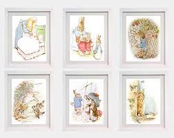 beatrix potter rabbit nursery beatrix potter etsy