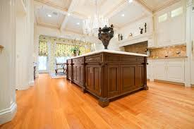 cherry wide plank flooring transitional living room york