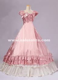 Halloween Victorian Costumes Pink Southern Belle Victorian Prom Princess Dresses Ball Gowns