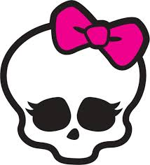monster high home decor skullette logo monster high decal removable wall sticker home