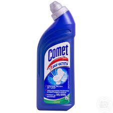 Comet Bathroom Cleaner by Means Comet With Citrus For Toilets 500ml Household