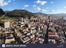 Bogota Colombia Map South America by Aerial View Of Bogota The Capital Of Colombia Panoramic View