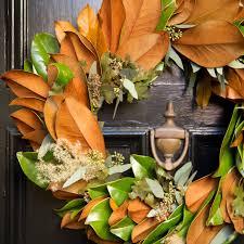 Magnolia Leaf Wreath Magnolia Wreath Eucalyptus Wreath Fall Wreaths Christmas Wreaths
