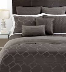 Hotel Collection Duvet Cover Set Hotel Collection Gridwork King Duvet Cover Graphite