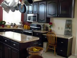 Dark Stained Kitchen Cabinets by How To Stain Kitchen Cabinets Darker Best Cabinet Decoration