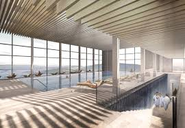 house design news giant cliff top spa to open at switzerland u0027s historic burgenstock