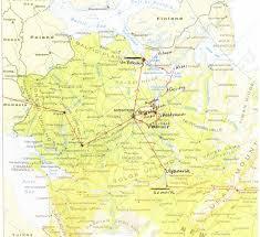 Moscow Map Ulyanovsk Map