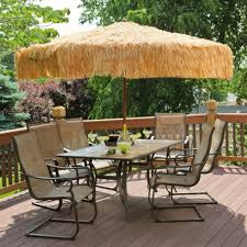 Cheap Patio Sets With Umbrella by Tropical Outdoor Umbrella With Charming Outdoor Patio Sets For