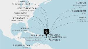 map of st martin directions maps caribbean resort four seasons anguilla