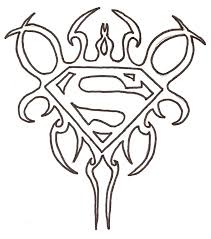 superman printing drawing coloring pages coloring