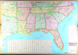 road map of southeast us road map of east coast united states us map south east coast