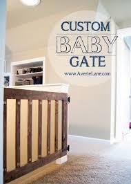 Child Gates For Stairs Custom Baby Gate Averie Lane Custom Baby Gate