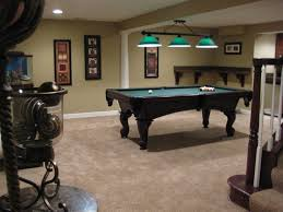Billiard Room Decor Basement Amazing Modern Basement Game Room Ideas With Red Wood
