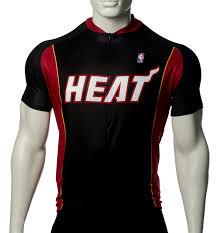 nba miami heat s cycling jersey black x small