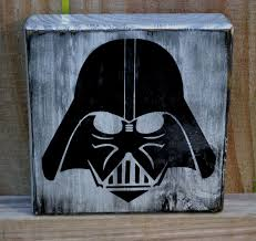 star wars home decor home decorators collection darth vader custom wood sign man cave star wars home by cssdesign
