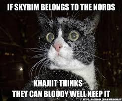 Khajiit Meme - khajiit has memes if you have coin album on imgur