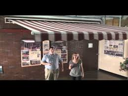 How Much Are Sunsetter Awnings Sunsetter Motorized And Motorized Xl Awnings Youtube