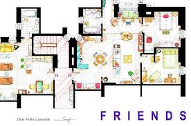 detailed floor plans incredibly detailed floor plans of the most famous tv show homes