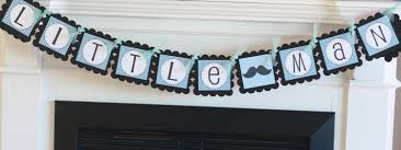 12 red black little man bowties and mustaches theme baby shower
