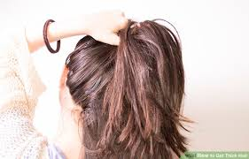 hair for thick hair 3 ways to get thick hair wikihow