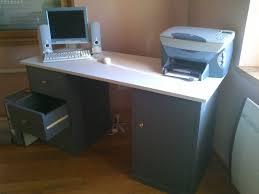 bureau blanc et gris petit bureau gris petit bureau meubs designs de meubles parisot