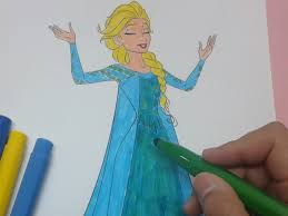 color frozen coloring pages girls frozen colouring